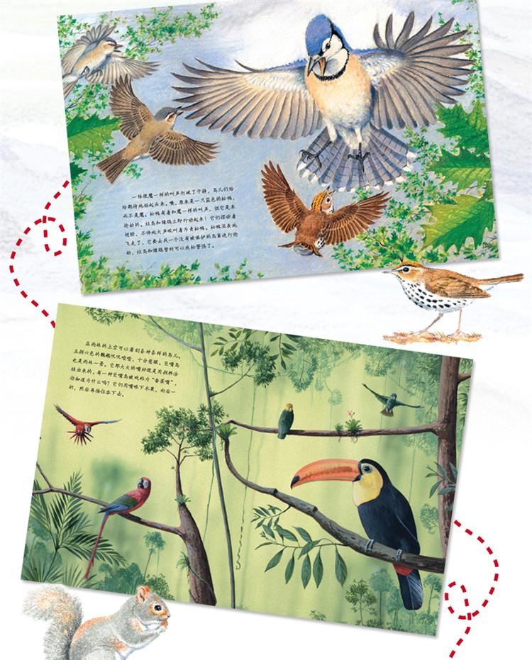 5册小脚印早早读神奇的动物故事书儿童绘本书